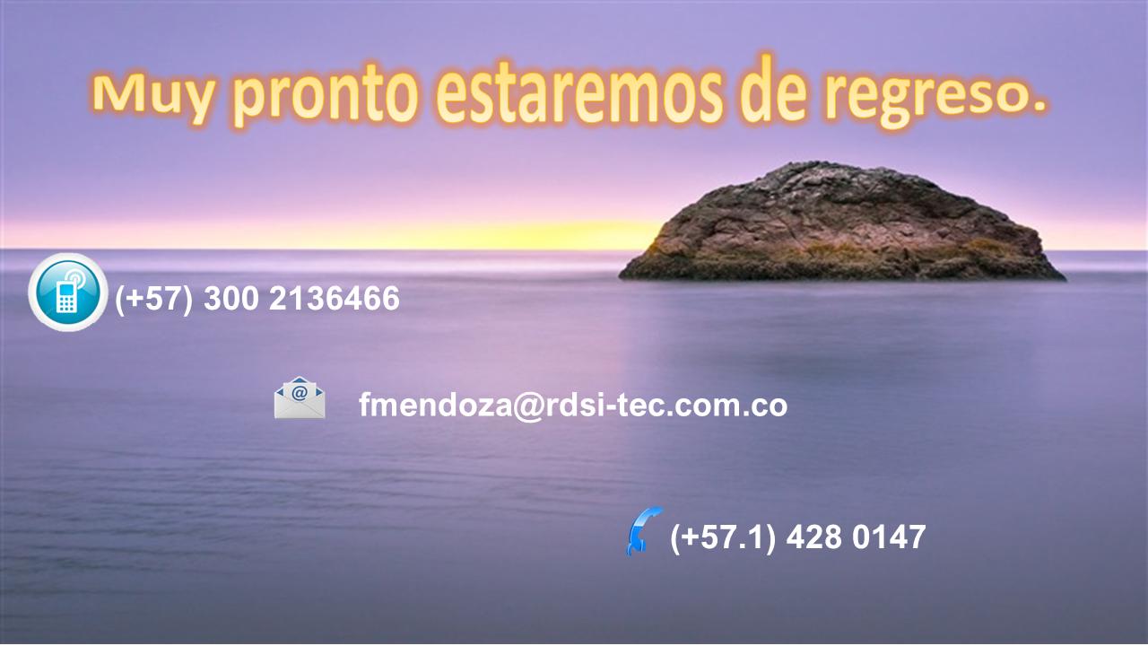 RDSI-TEC. Sitio en Mantenimiento
